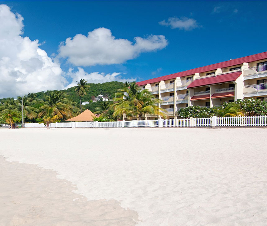 Beautiful scenery of Radisson Grenada Beach Resort