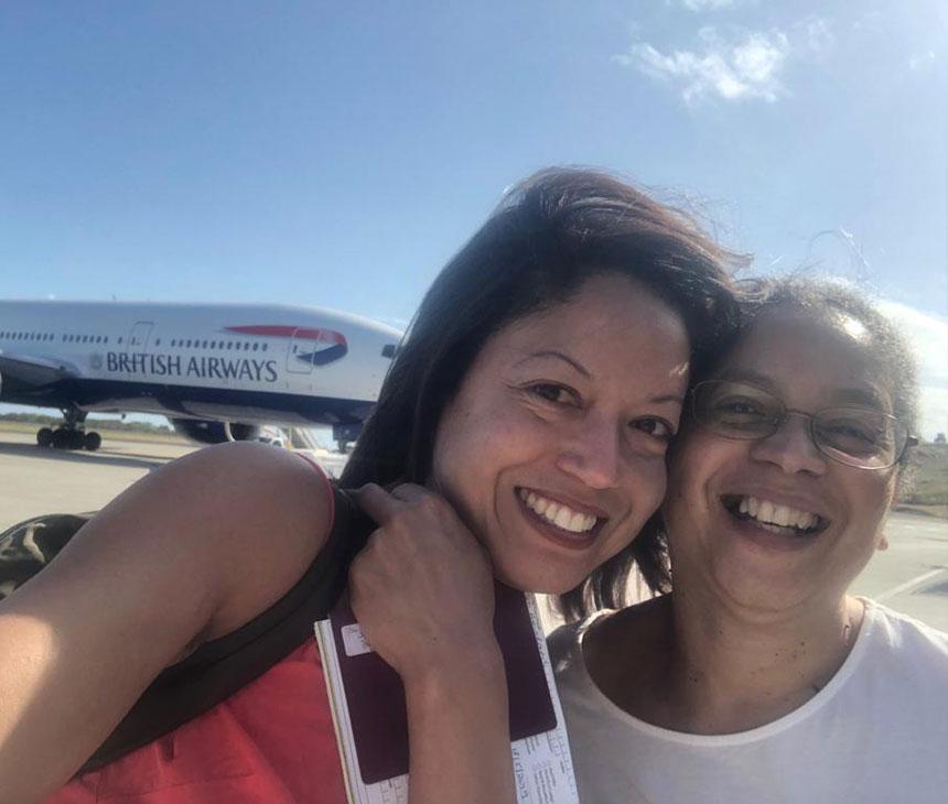Grenada reporters exploring the island